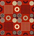 chinese regular seamless pattern vector image vector image