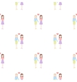 Lesbian icon cartoon pattern gay icon from the vector image