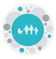 of relatives symbol on family vector image