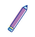 pencil tool to study in the school icon vector image vector image