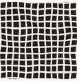 Seamless Black and White Distorted Square vector image vector image