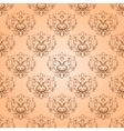 seamless with damask elements vector image vector image