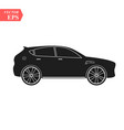 super car design concept unique modern realistic vector image vector image
