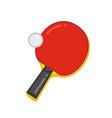 tabble-tennis vector image