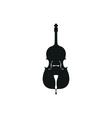 acoustic Cello vector image