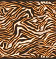 abstract tiger skin wallpaper vector image