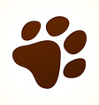 Brown footprint vector | Price: 1 Credit (USD $1)