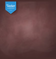 brown vintage chalkboard texture vector image vector image