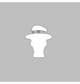 gentleman computer symbol vector image