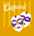 Mask carnival concept