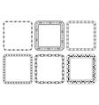 set of frames - decorative squares vector image vector image