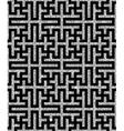 silver oriental swastika pattern vector image
