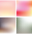 soft patterned backgrounds vector image