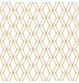subtle golden mesh seamless pattern texture vector image vector image