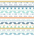 tribal colorful seamless repeat pattern vector image vector image