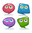 collection talking speaking and communication vector image