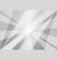 gray and white abstract geometric background vector image