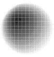Halftone Circle vector image vector image
