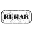 rehab vector image