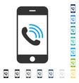Smartphone call icon