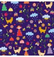 spring seamless pattern vector image