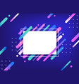 colorful frame on abstract background vector image
