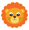 cute balion on white background vector image vector image