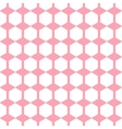 geometric pink seamless pattern Hexagon vector image vector image