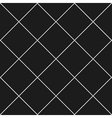 Grid Diamond Square Gray Black Background vector image vector image