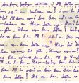 old writing ink seamless pattern vector image