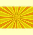 pop art vintage radial halftone background vector image vector image