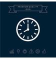 watch icon symbol vector image