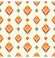 Abstract geometric retro background with vector image vector image