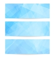 Collection banners vector image