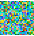 colorful seamless pixel pattern vector image vector image