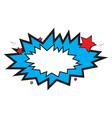 Comic Burst vector image vector image