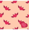 Happy Valentines day collection background vector image