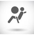 Seat belt vector image vector image