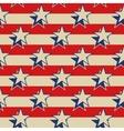 Stars stripes USA patriotic seamless background vector image
