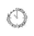 Ecological concept design clock
