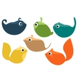 Isolated Animals vector image