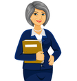mature business women vector image