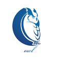 Owl symbol vector image vector image