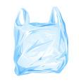Plastic bag isolated