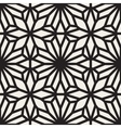 Seamless Black and White Lace Ornamental vector image vector image