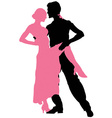 Tango dancing vector image vector image
