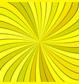 yellow psychedelic abstract spiral stripe vector image vector image