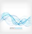 abstract color wave design element blue wave