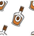 armenian vodka traditional drink artsakh or cognac vector image vector image