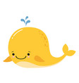 Cute amusing yellow whale prints image